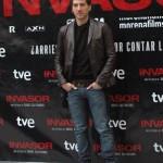 Alberto Ammann en la presentación de Invasor