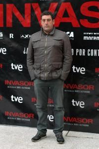 Daniel Calparsoro en la presentación de Invasor (2)