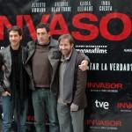 Alberto Ammann, Daniel Calparsoro y Antonio de la Torre en la presentación de Invasor (3)
