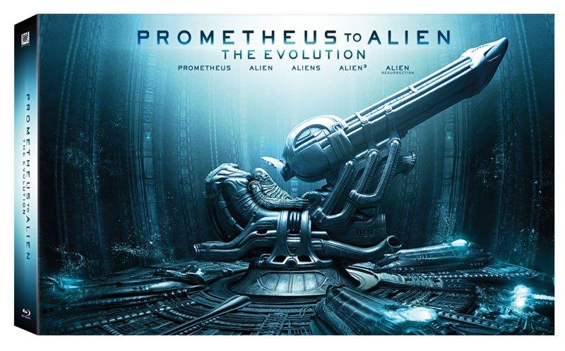 Presentación de Prometheus en Blu ray