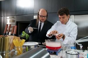 Santiago Segura y Michaël Youn en El chef, la receta de la felicidad