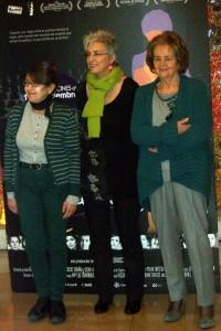 María Izquierdo, Oliva Acosta, y Nona Inés Vilariño en la presentación de Las constituyentes (3)