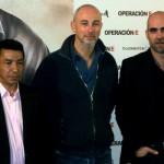 José Crisanto, Miguel Courtois, y Luis Tosar en la presentación de Operación E (2)