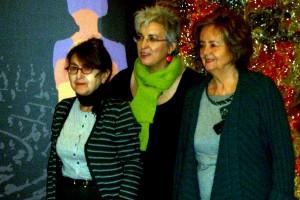 María Izquierdo, Oliva Acosta, y Nona Inés Vilariño en la presentación de Las constituyentes (2)