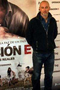 Miguel Courtois en la presentación de Operación E