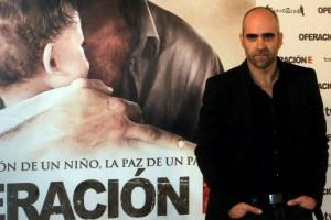 Luis Tosar en la presentación de Operación E