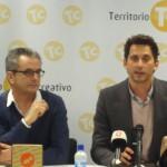 Paco León y Juan Carlos Tous en la presentación de la edición especial de Carmina o revienta (2)