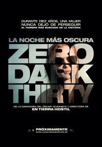 La noche más oscura - Poster