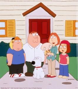 Los Griffin en Padre de familia