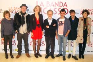 Equipo artístico de La banda Picasso
