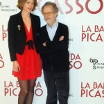 Raphaëlle Agogué y Fernado Colomo en la presentación de La banda Picasso (5)