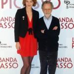 Raphaëlle Agogué y Fernado Colomo en la presentación de La banda Picasso (4)