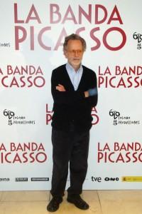 Fernando Colomo en la presentación de La banda Picasso