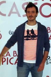 Ignacio Mateos en la presentación de La banda Picasso