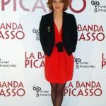 Raphaëlle Agogué en la presentación de La banda Picasso