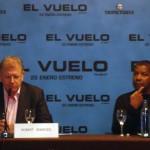 Robert Zemeckis y Denzel Washington en la rueda de prensa de El vuelo (Flight) (3)