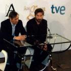 José Antonio Félez y Antonio de la Torre en la rueda de prensa de Los finalistas de la 27 edición de los premios Goya (2)