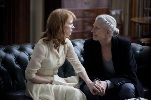 Jessica Chastain y Vanessa Redgrave en Coriolanus