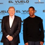 Robert Zemeckis y Denzel Washington en la presentación de El vuelo (Flight) (3)