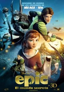 Epic: El mudo secreto - Teaser Poster