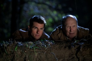 Tom Cruise y Robert Duvall en Jack Reacher