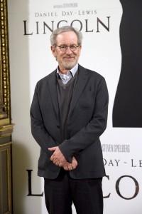 Steven Spielberg en la presentación de Lincoln