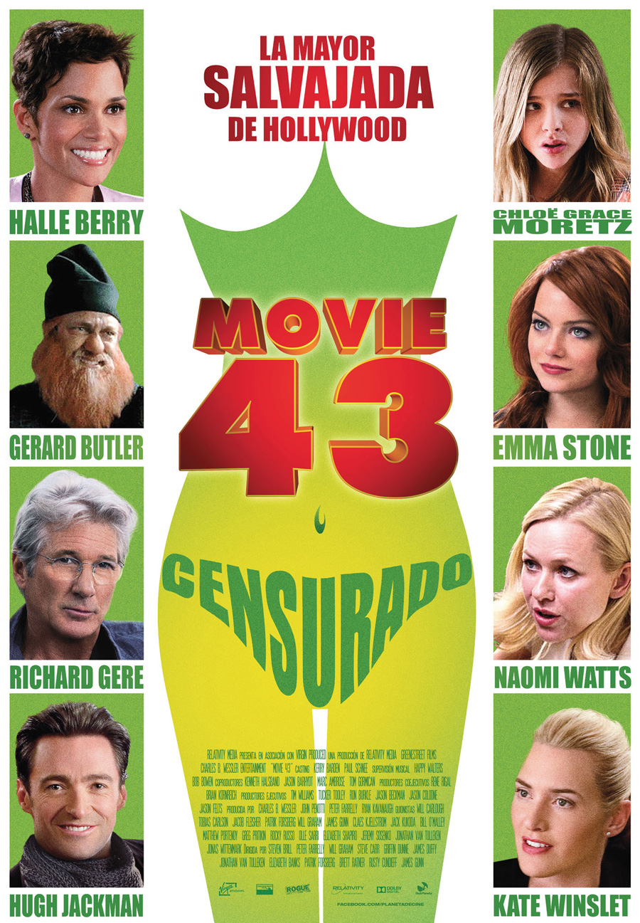 Movie 43: Segmentos esperpénticos