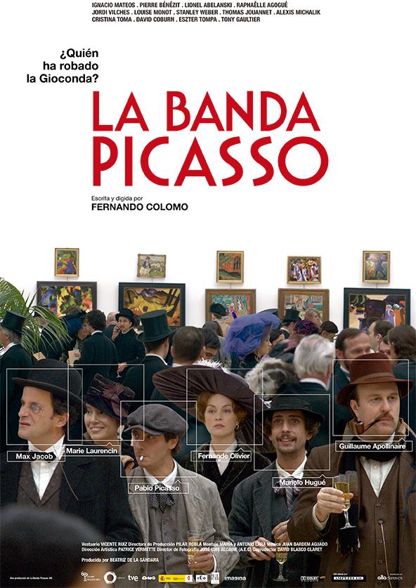La banda Picasso: Precioso paisaje en blanco