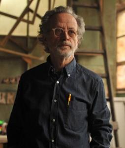 Fernando Colomo en el rodaje de La banda Picasso