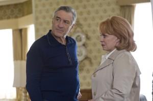 Robert De Niro y Jacki Weaver en El lado bueno de las cosas