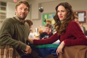 Joel Edgerton y Jennifer Garner en La extraña vida de Timothy Green