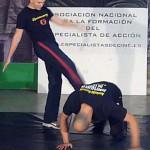 Captura coreografía Juanramoh golpeando