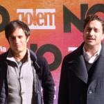 Gael García Bernal y Pablo Larraín en la presentación de No (4)