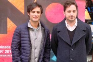 Gael García Bernal y Pablo Larraín en la presentación de No (6)