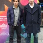 Gael García Bernal y Pablo Larraín en la presentación de No (7)