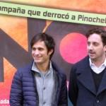 Gael García Bernal y Pablo Larraín en la presentación de No (8)