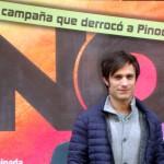 Gael García Bernal en la presentación de No