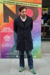 Pablo Larraín en la presentación de No