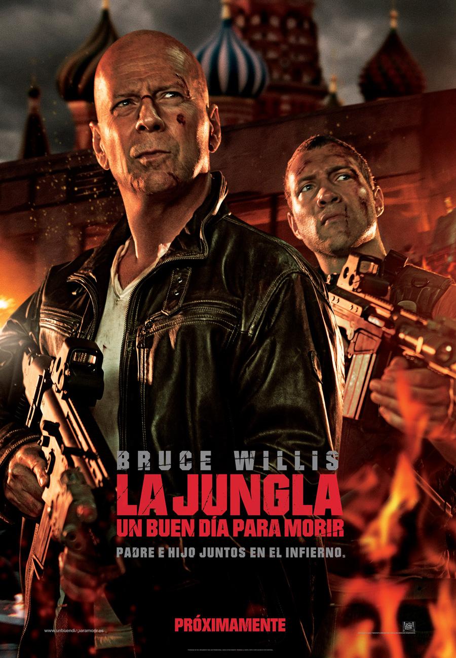 La jungla: Un buen día para morir: McClane jubílate!!!