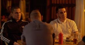 Álex Gonzalez y Miguel Ángel Silvestre en Alacrán enamorado