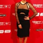 Blanca Suárez en los Fotogramas de plata 2012