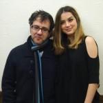Antonio Trashorras y Ana de Armas en la presentación de El callejón