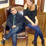 Antonio Trashorras y Ana de Armas en la presentación de El callejón (3)