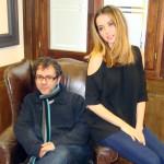 Antonio Trashorras y Ana de Armas en la presentación de El callejón (4)