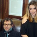 Antonio Trashorras y Ana de Armas en la presentación de El callejón (5)