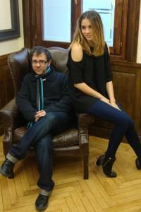 Antonio Trashorras y Ana de Armas en la presentación de El callejón (8)