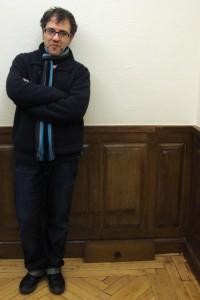 Antonio Trashorras en la presentación de El callejón