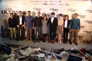 El equipo artístico de Los últimos días