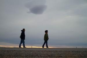 Alejandro Awada y Victoria Almeida en Días de pesca en Patagonia