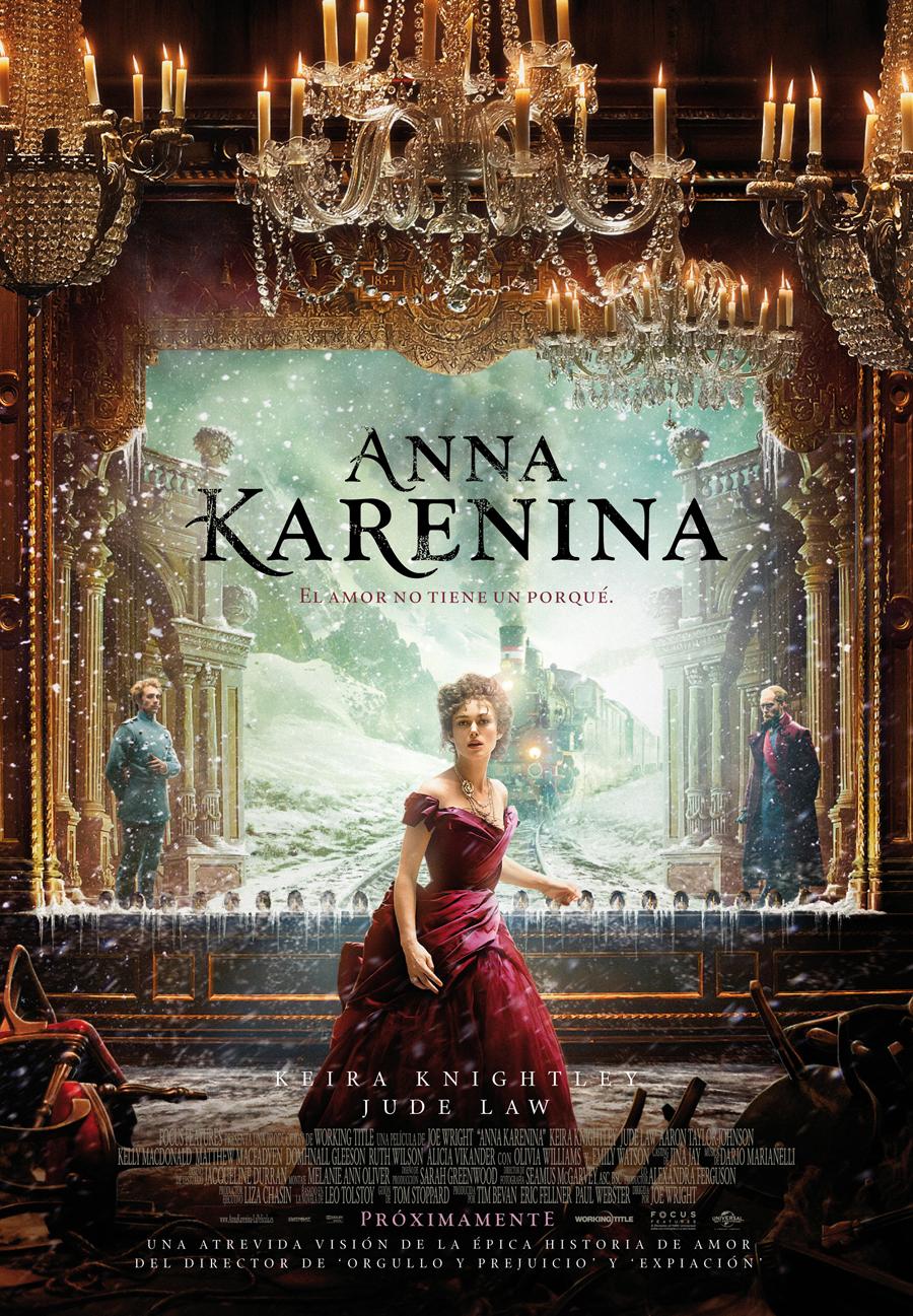 Anna Karenina: Puro teatro